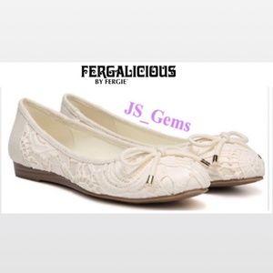 White Slip On Ballet Flat Female Shoes